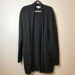 MICHAEL Michael Kors Black Sequins Knit Cardigan